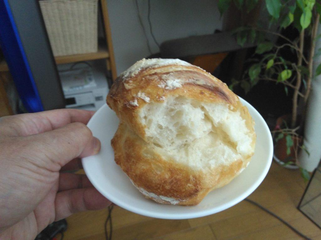 パンを味見