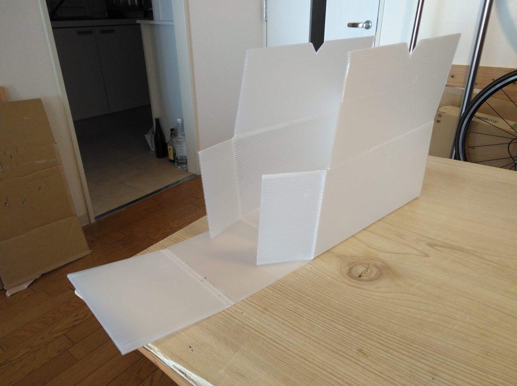 箱組み立ての様子(資料映像)