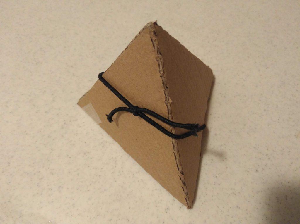 四面体の模型2