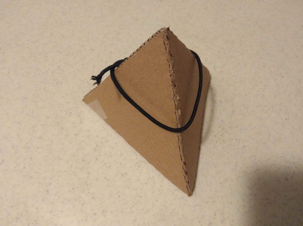 四面体の模型1